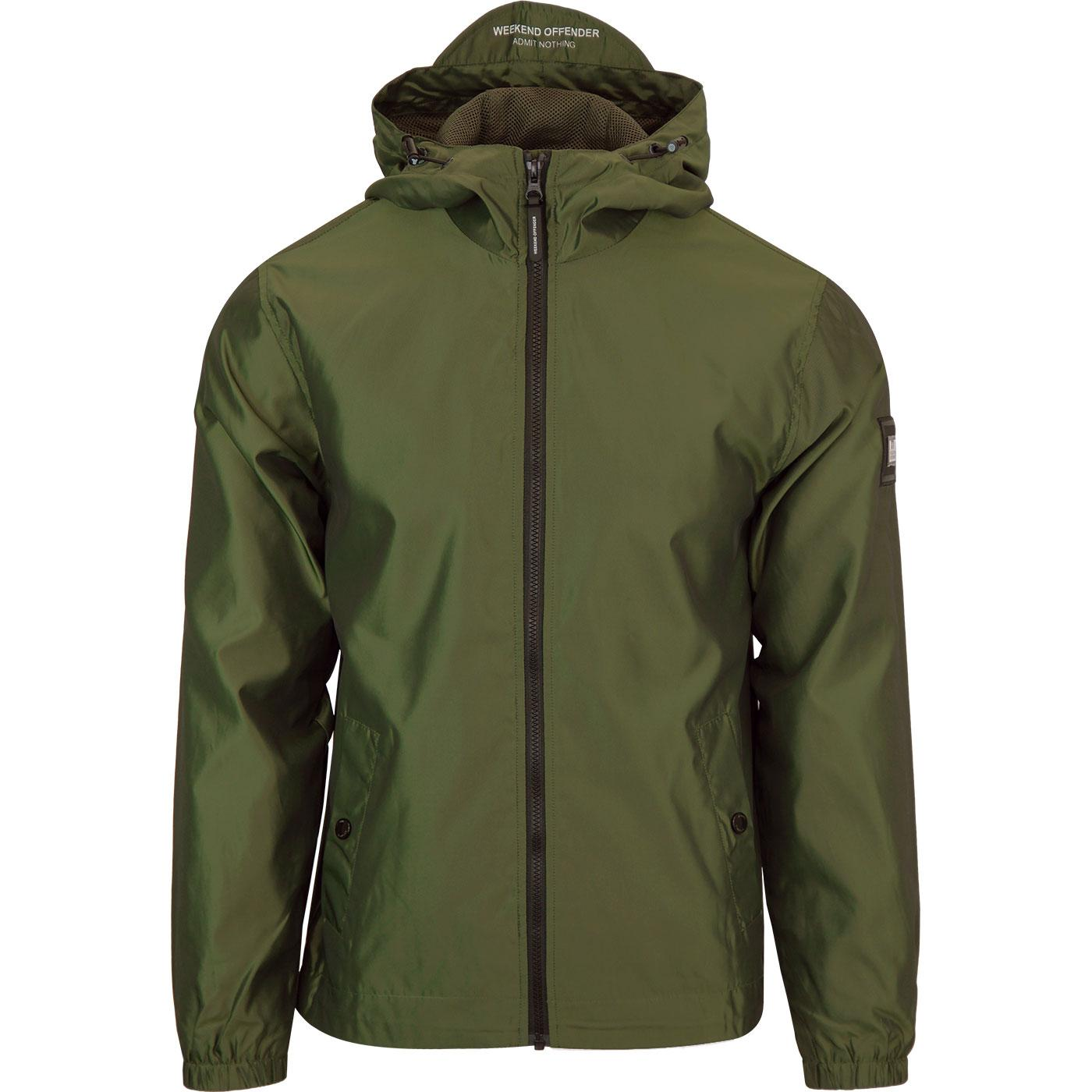 Armstrong WEEKEND OFFENDER 90s Hooded Jacket MOSS