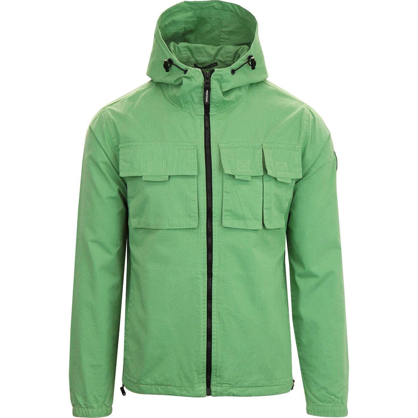 Cardillo WEEKEND OFFENDER Retro Hooded Jacket (GT)