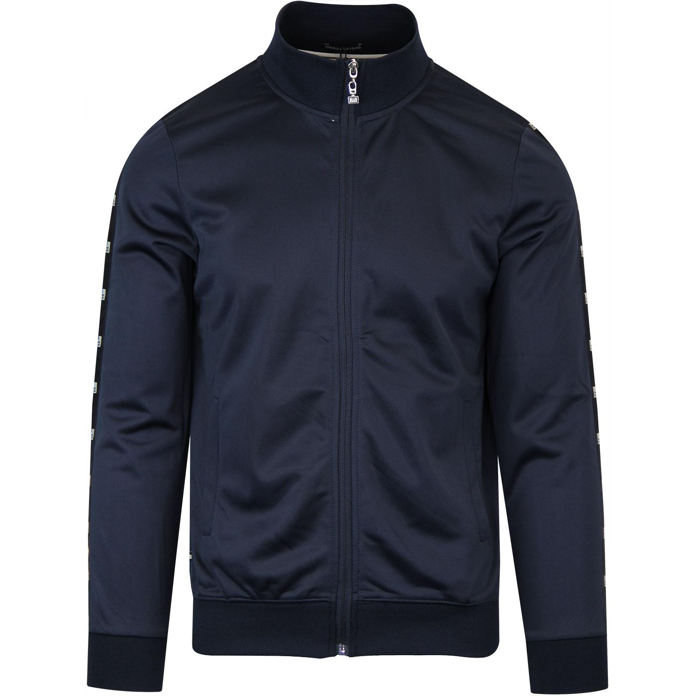 Tyson WEEKEND OFFENDER Retro 80s Track Top (Navy)