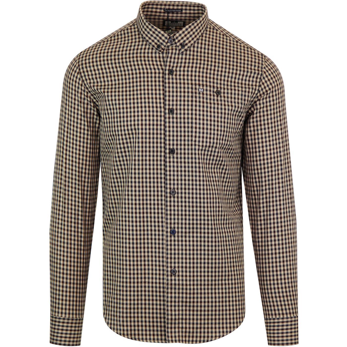 Wilde WEEKEND OFFENDER Heritage Check Mod Shirt