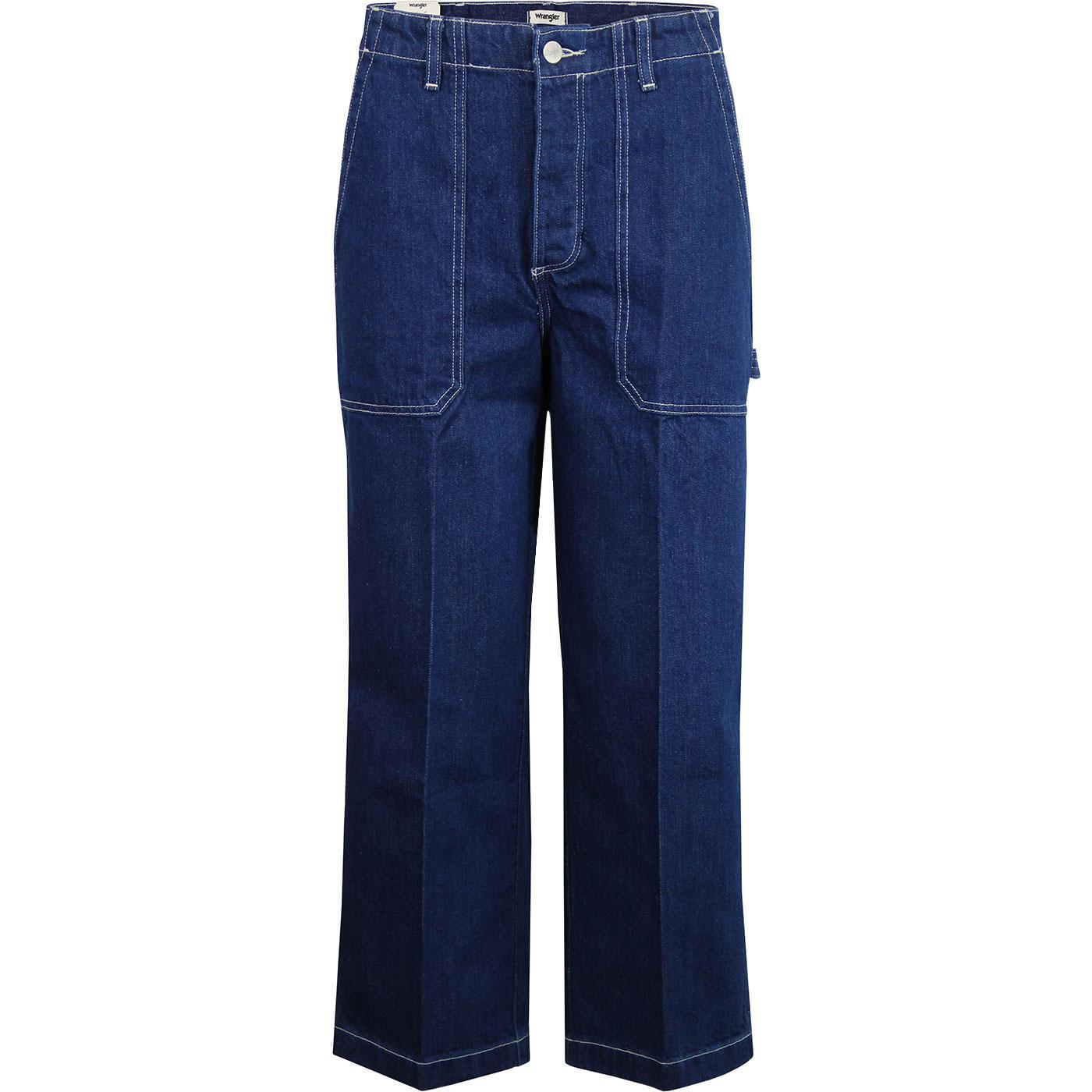 Carpenter Pants WRANGLER Retro 70s Cropped Jeans