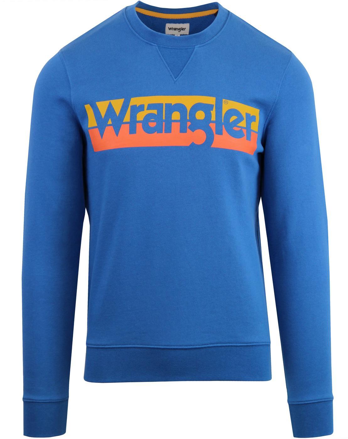 WRANGLER Retro 70's Block Logo Sweatshirt DW