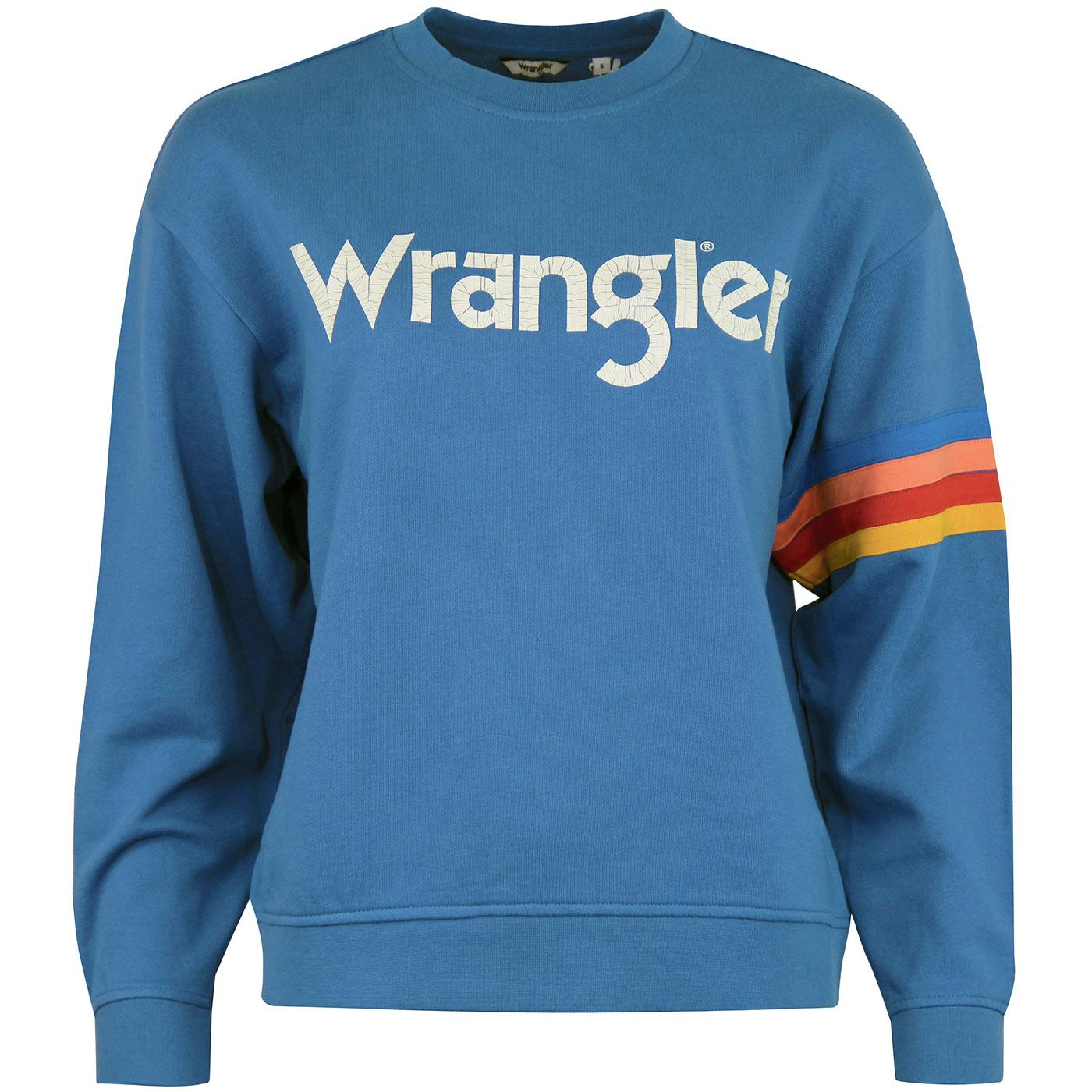WRANGLER Women's Retro Seventies Logo Sweater