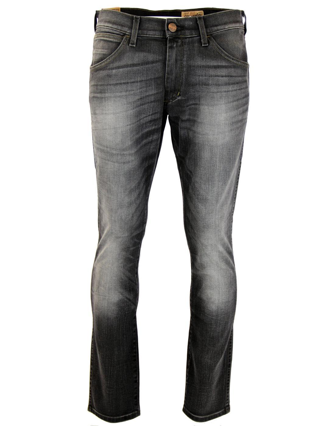 Bryson WRANGLER Retro Black Cat Denim Skinny Jeans