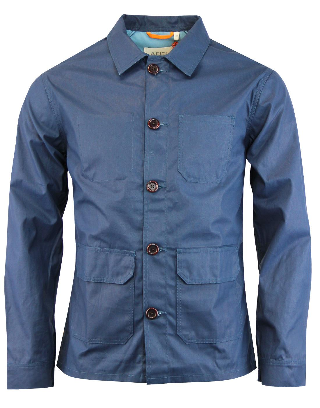 Porter AFIELD Retro Waxed Cotton Overshirt Jacket
