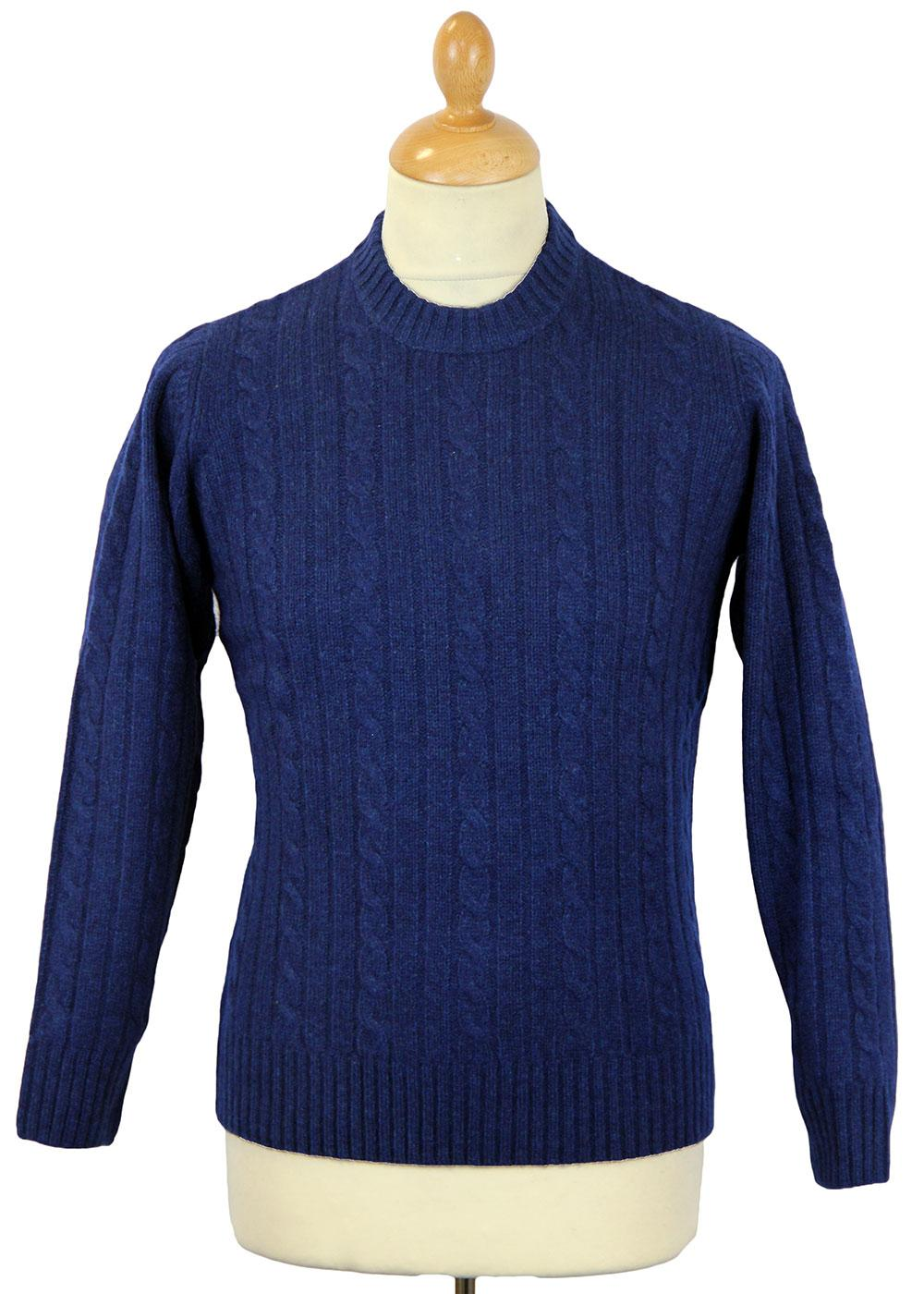 Rathmell ALAN PAINE Lambswool Cable Knit Jumper I