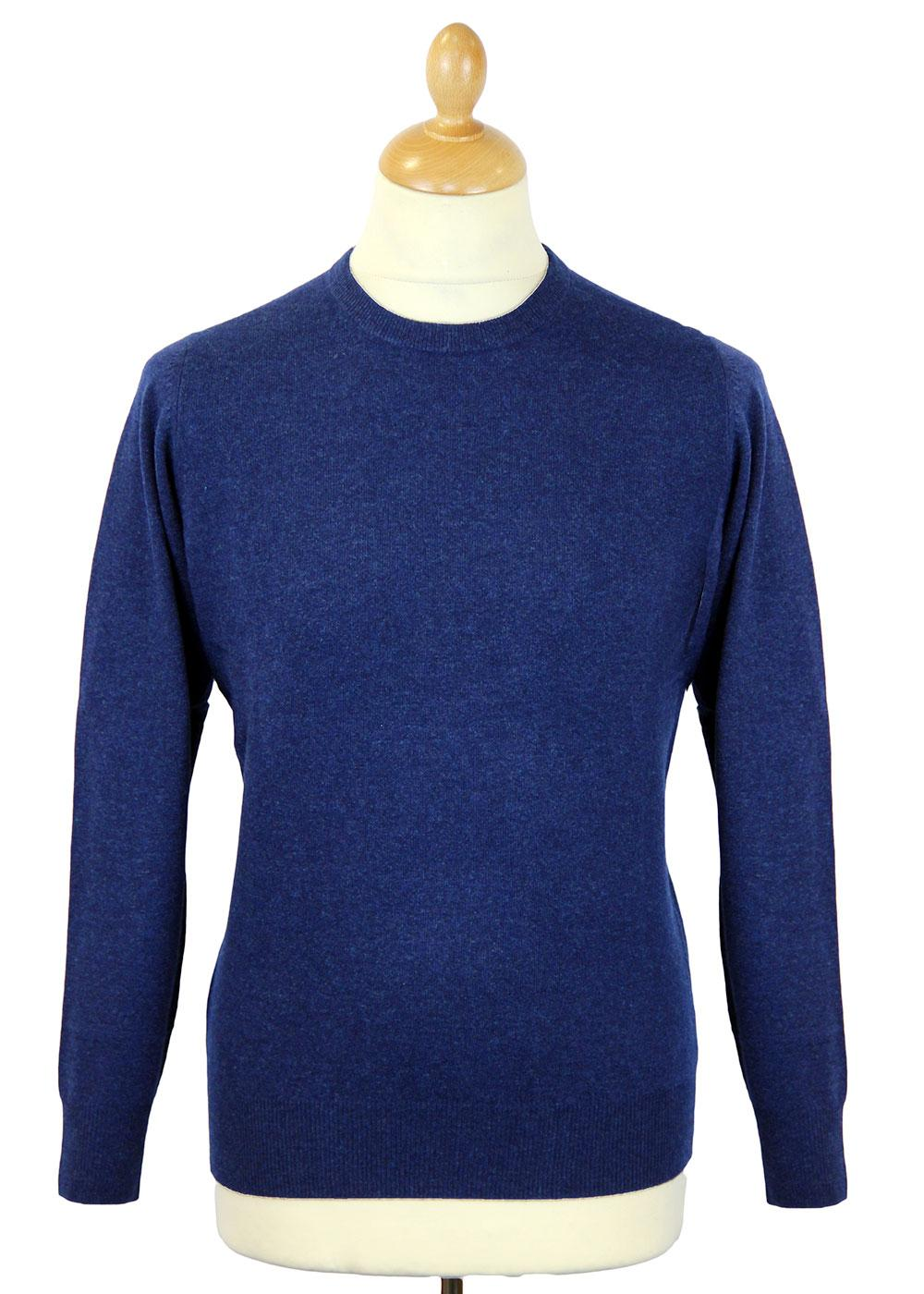 Brisbane ALAN PAINE Mod Wool Crew Neck Jumper (I)