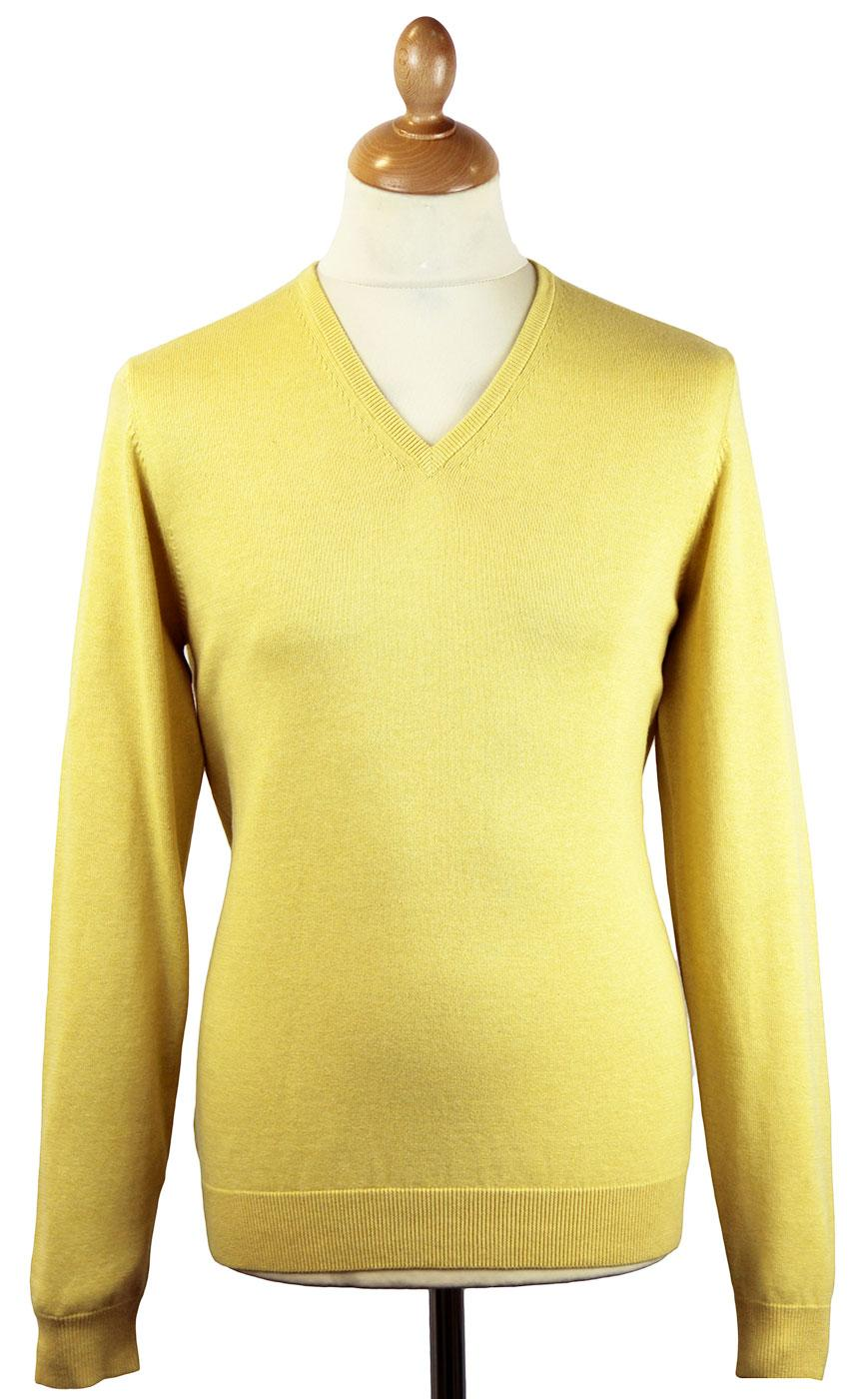 Rothwell ALAN PAINE Luxury Cotton V-Neck Jumper C