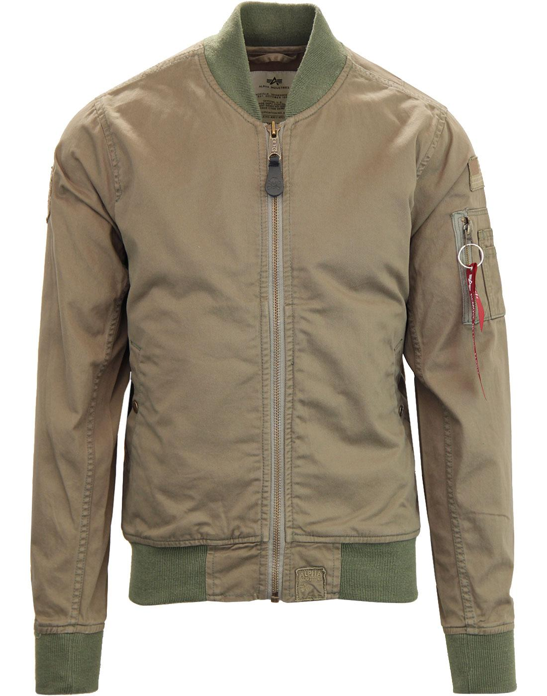 Ground Crew II ALPHA INDUSTRIES Military Bomber