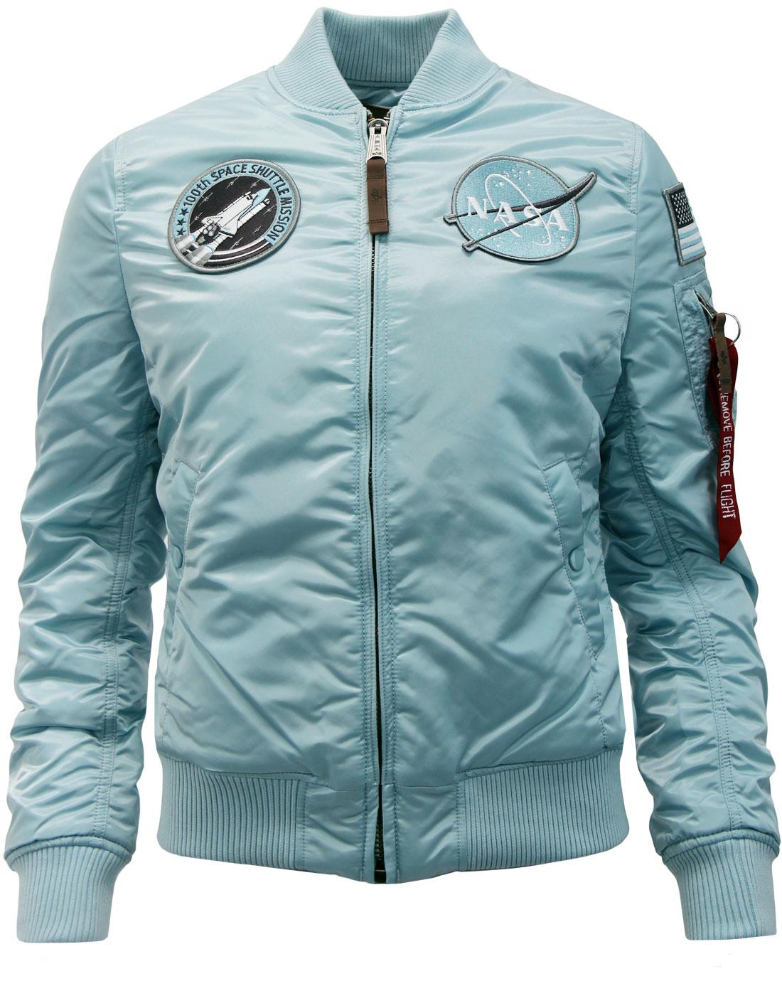 MA1 VF NASA ALPHA INDUSTRIES Women's Bomber Jacket