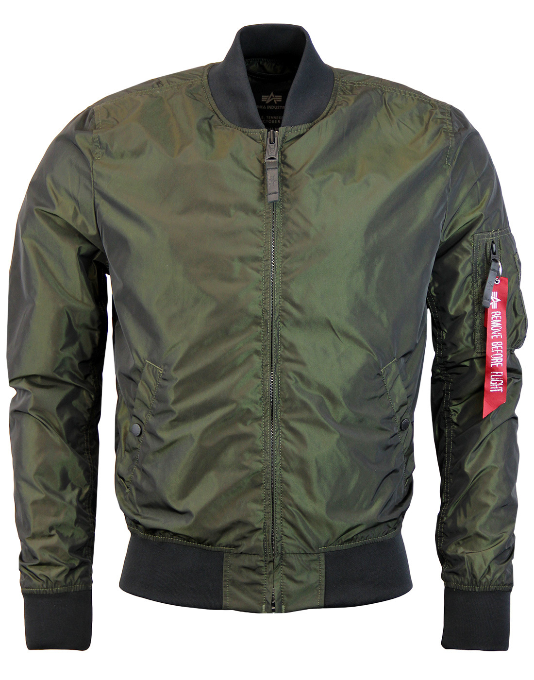 MA1 LW Iriduim ALPHA INDUSTRIES Mod Bomber Jacket