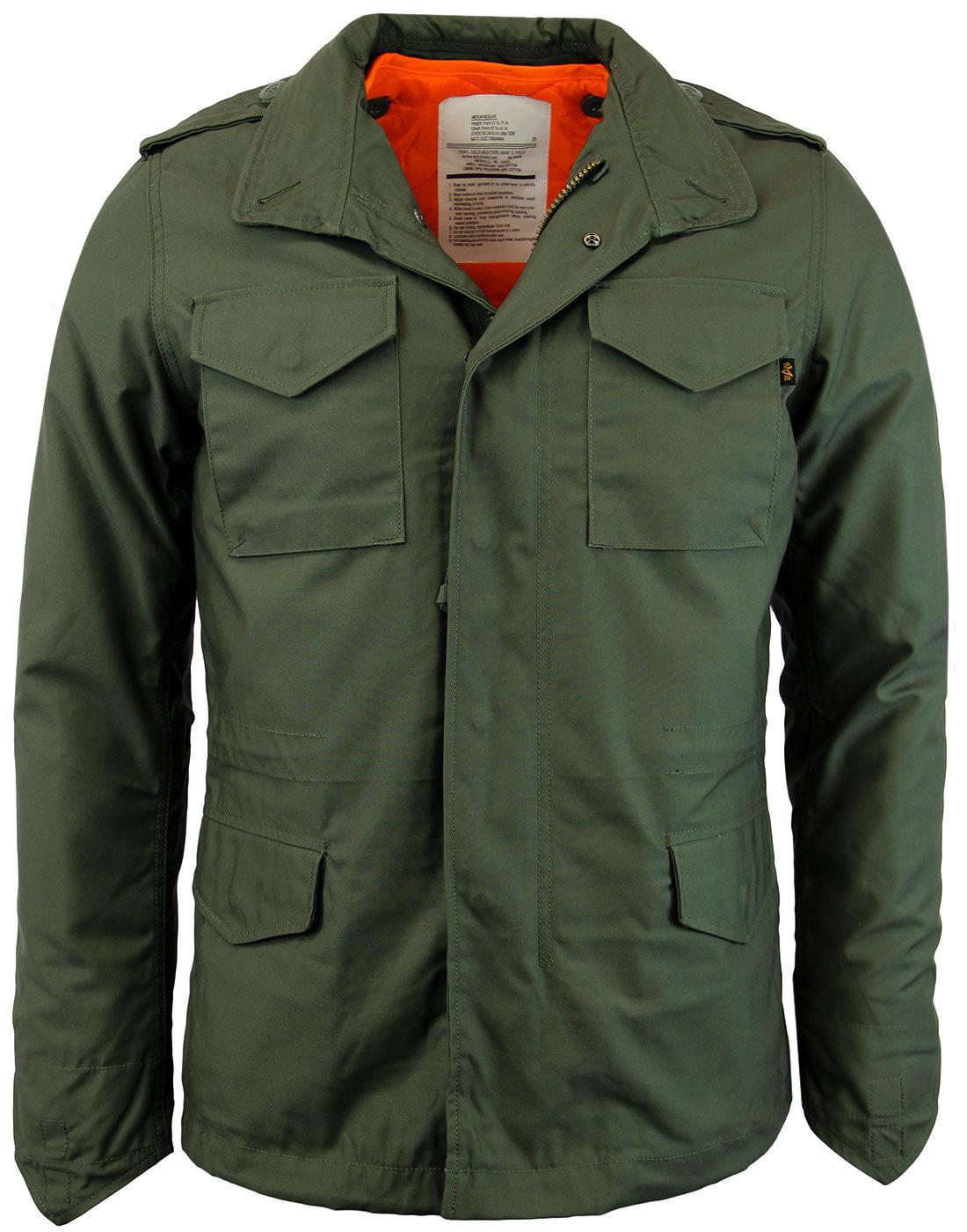 ALPHA INDUSTRIES M 65 Heritage Slim Field Jacket O