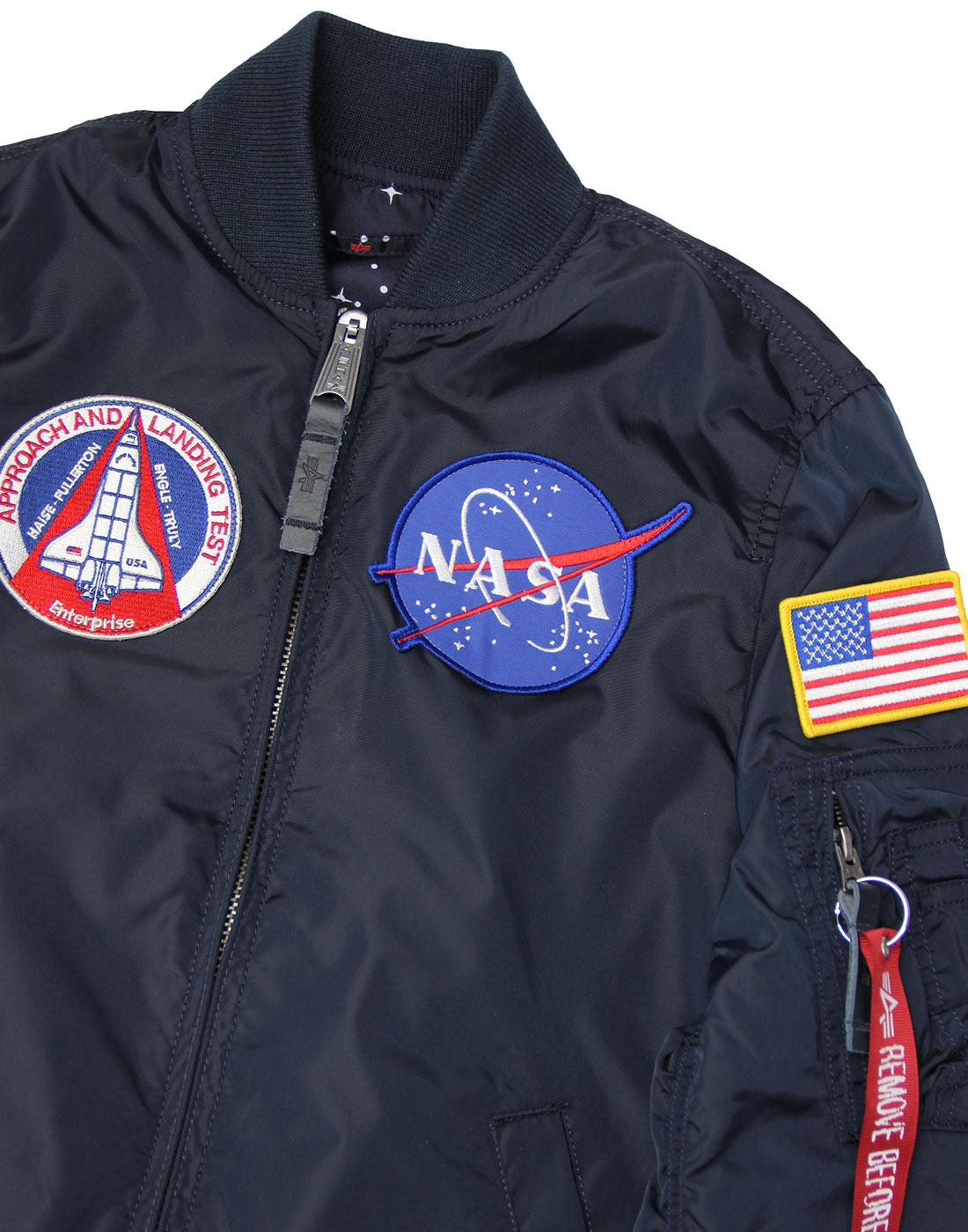 ALPHA INDUSTRIES MA-1 TT NASA Rev Wmn Bomber Jacket 8bbb6b1d62