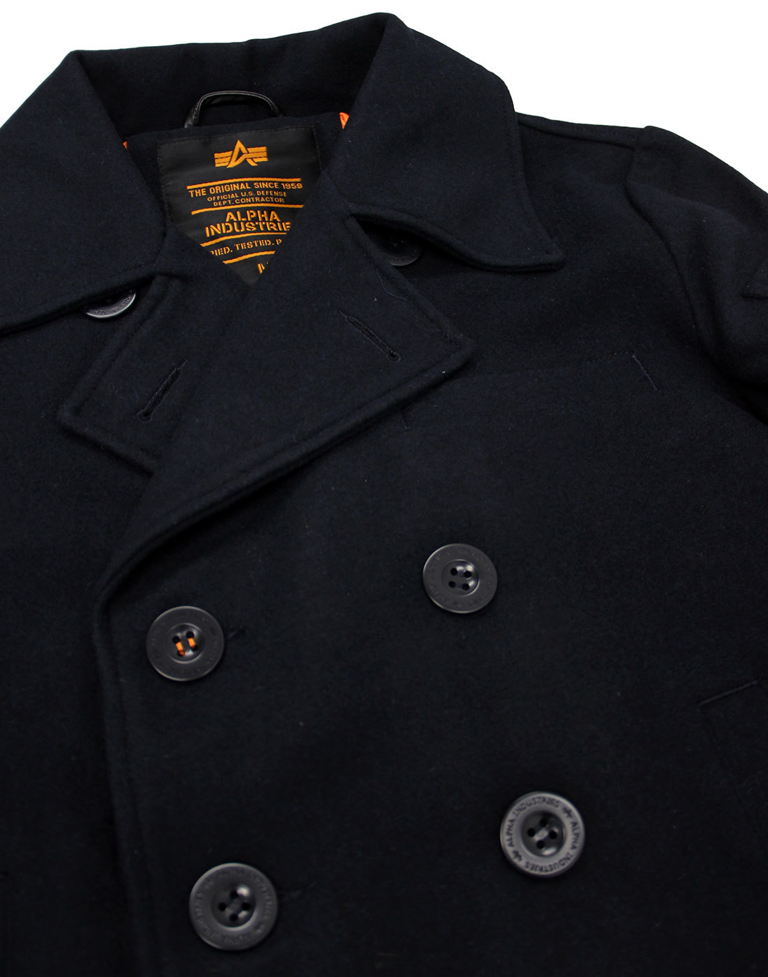 the best attitude buy real reliable reputation ALPHA INDUSTRIES Retro Mod Military VF Pea Coat