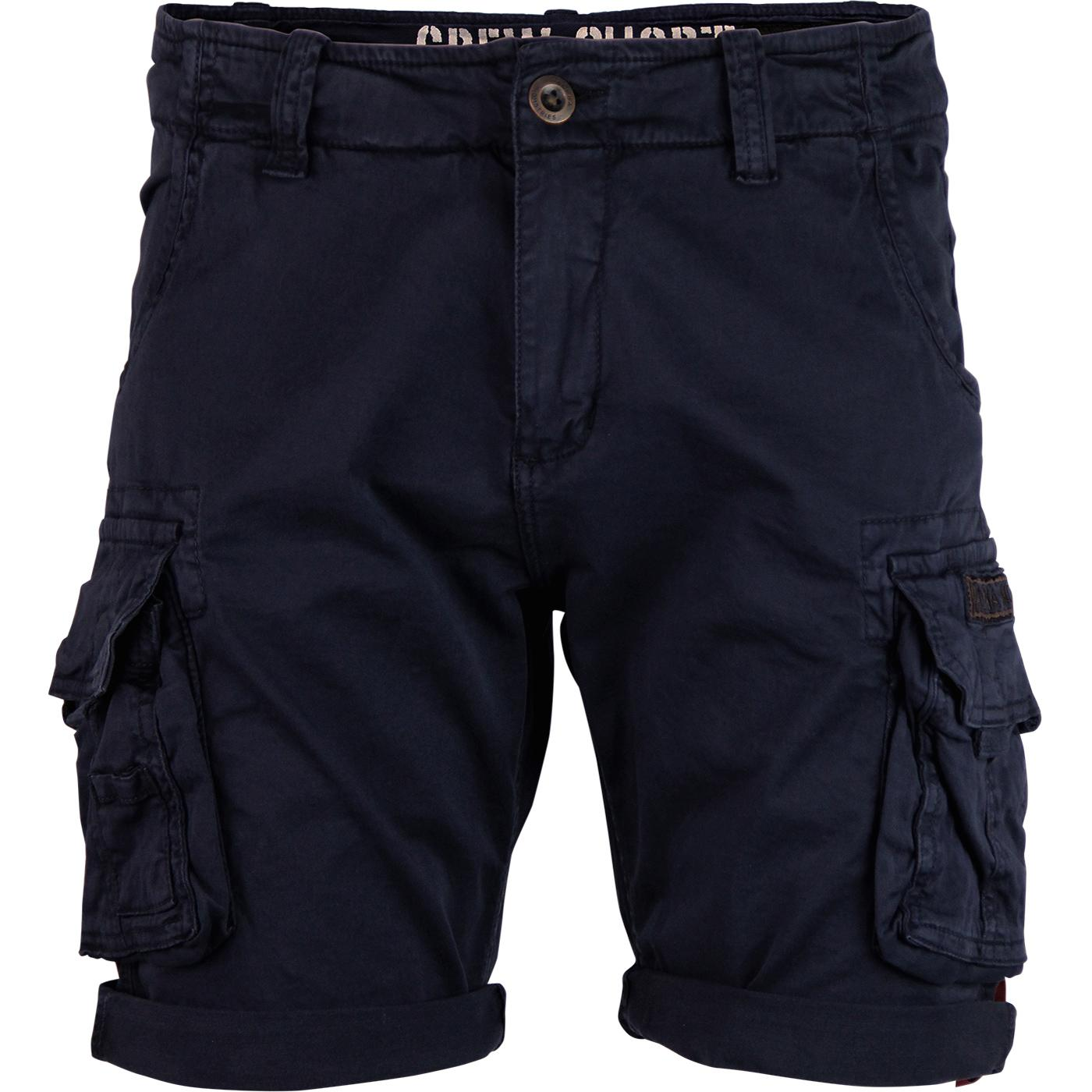 ALPHA INDUSTRIES Retro Combat Crew Shorts REP BLUE