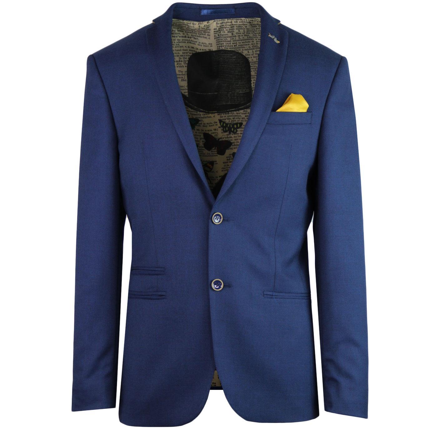 ANTIQUE ROGUE 60s Mod 2 Button Hopsack Suit Jacket