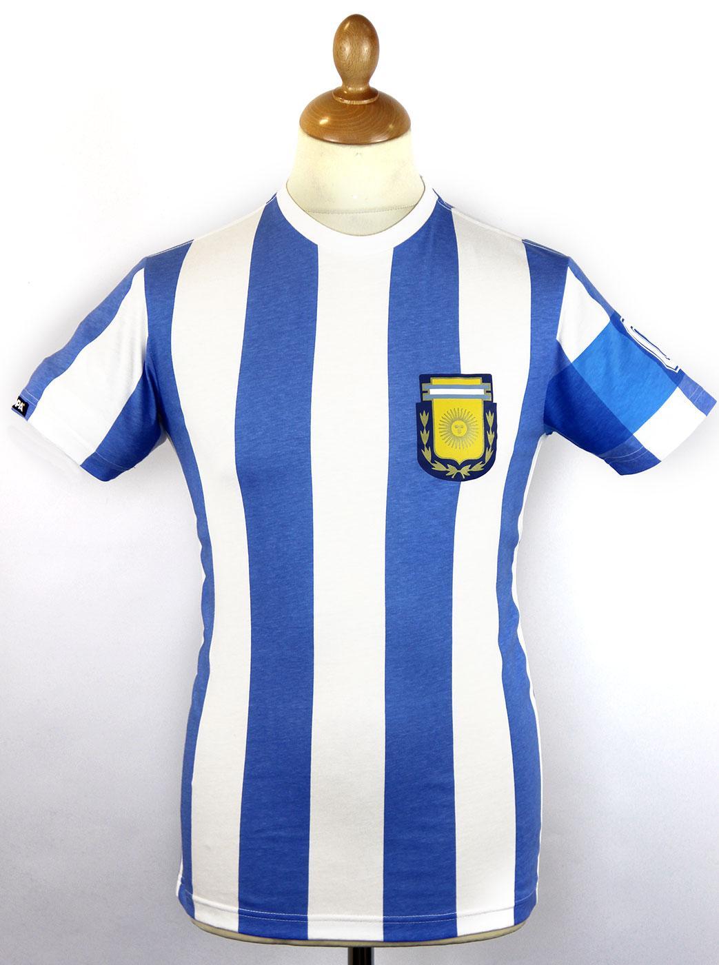 Argentina Capitano COPA Retro Football T-Shirt