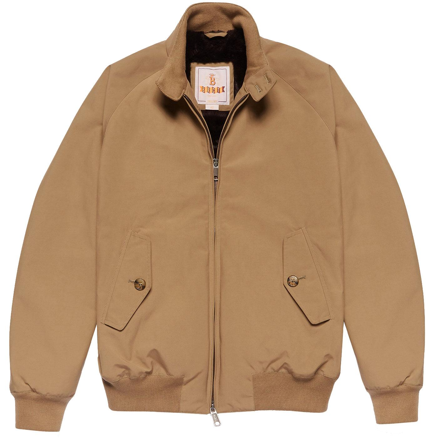 BARACUTA G9 Eco Faux Fur Lined Harrington Jacket