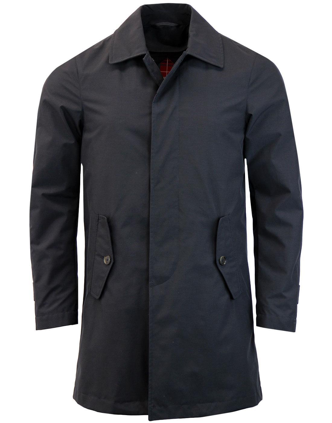 BARACUTA G10 Detachable Quilted Liner Mac Coat (N)