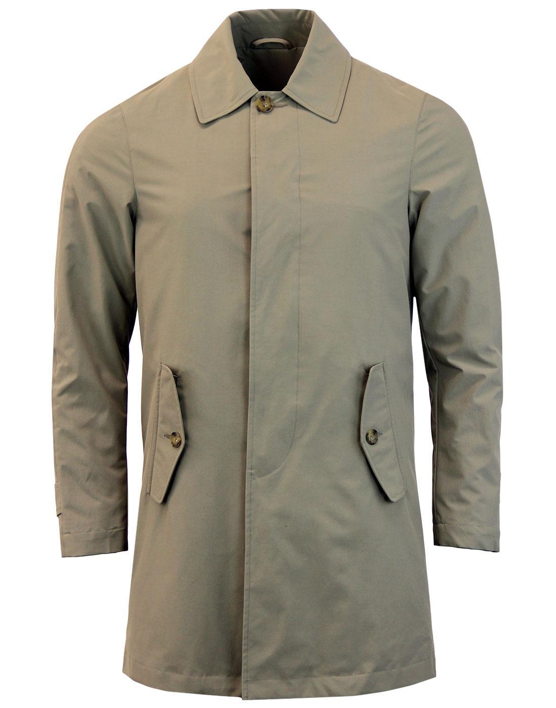 BARACUTA G10 Detachable Quilted Liner Mac Coat (T)