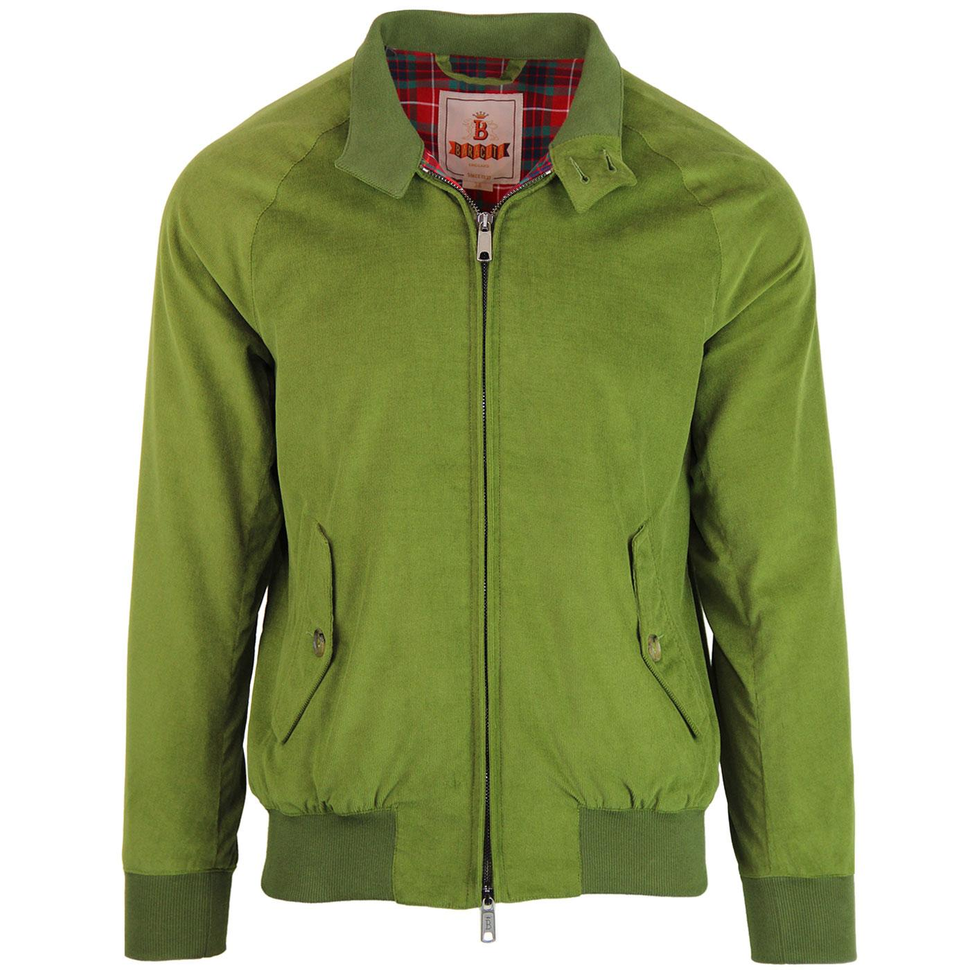 BARACUTA G9 Authentic Fit Cord Harrington (Leaf)