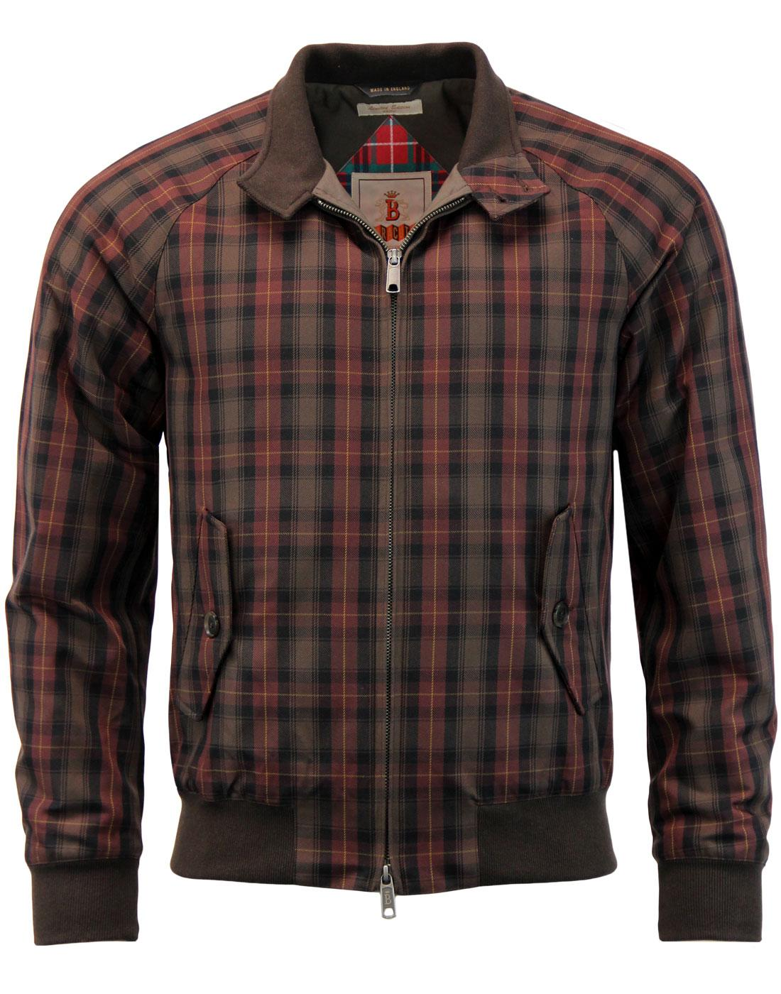 BARACUTA G9 Winter Mod Japanese Check Harrington