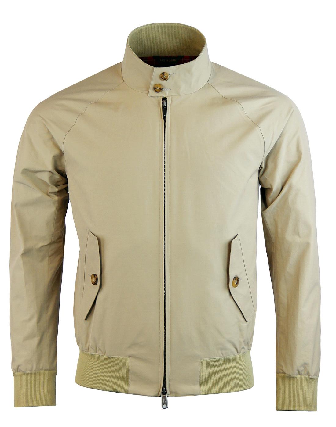 0d80f3891320d BARACUTA G9 Original Mod 60s Harrington Jacket in Natural