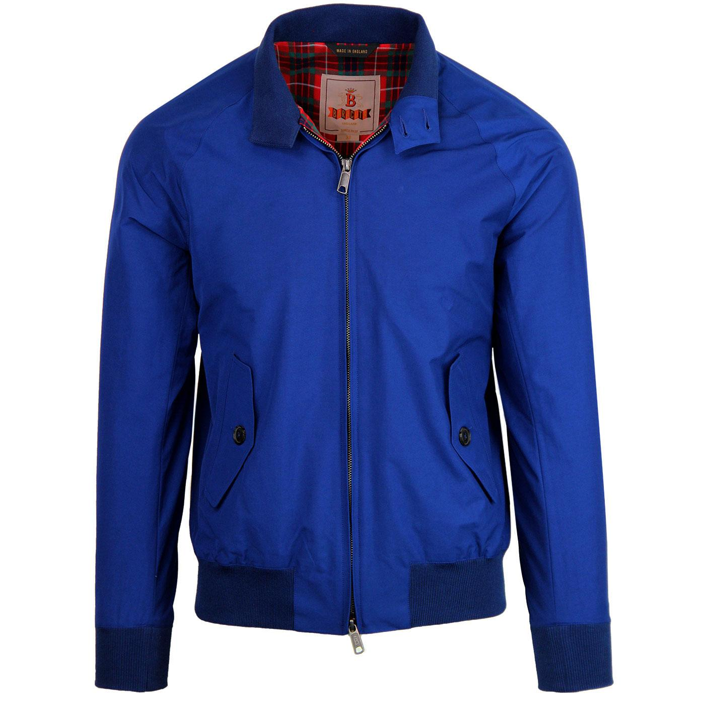 BARACUTA G9 Made in England Mod Harrington COBALT