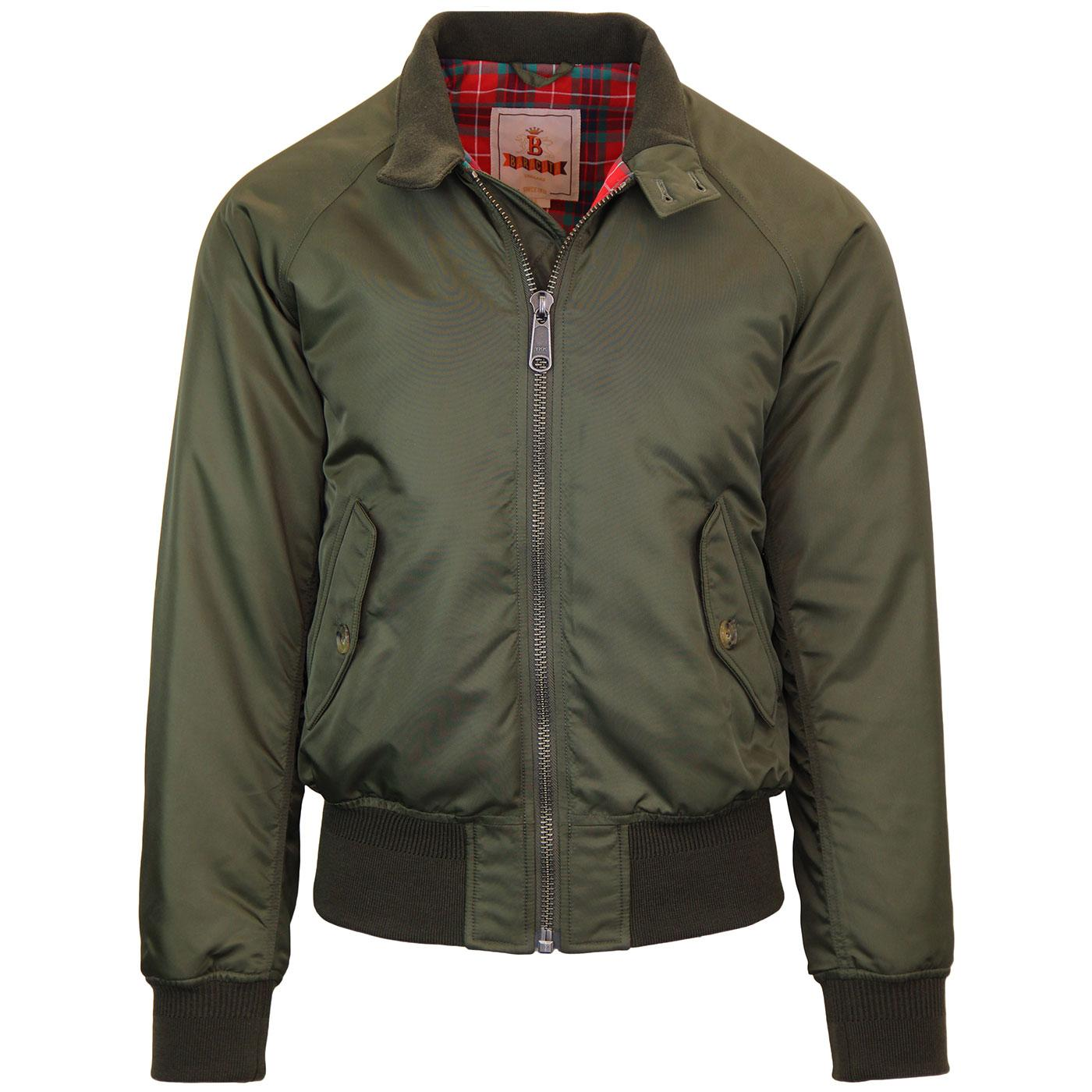 BARACUTA G9 Winter Flight Harrington Jacket BEECH