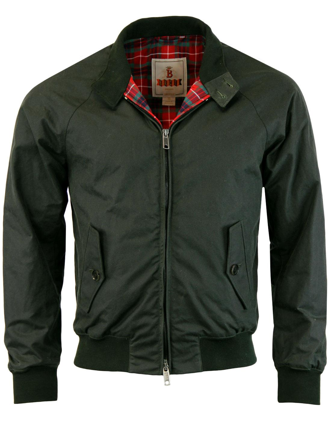 BARACUTA G9 Winter Mod Waxed Cotton Harrington (F)