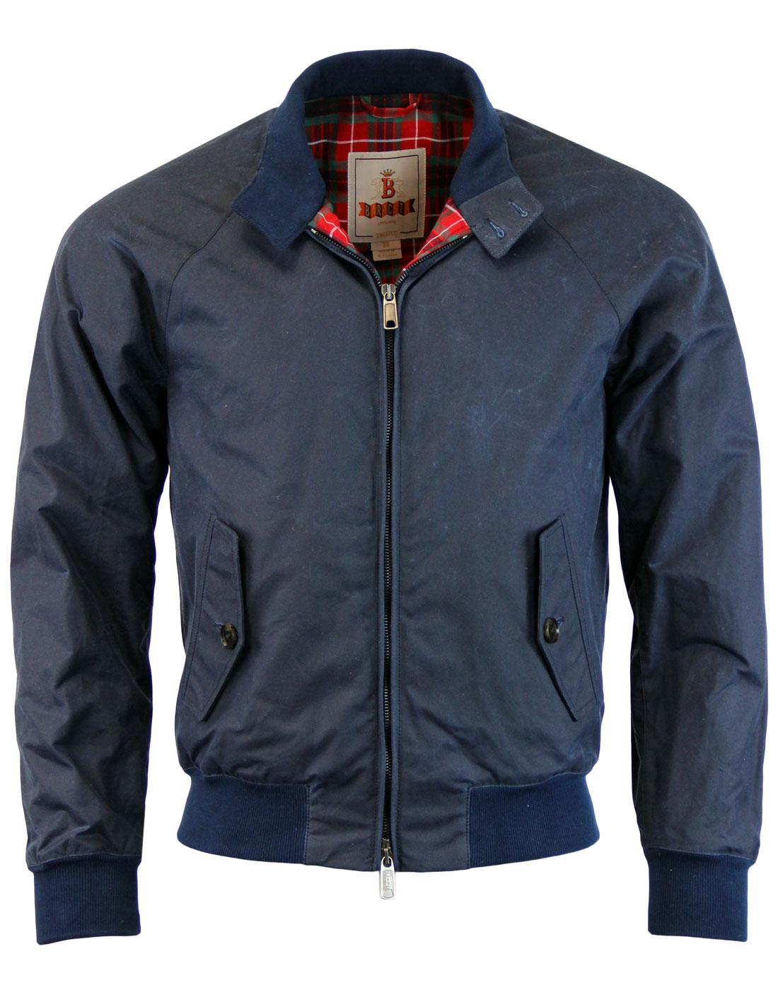 BARACUTA G9 Winter 60s Mod Waxed Cotton Harrington