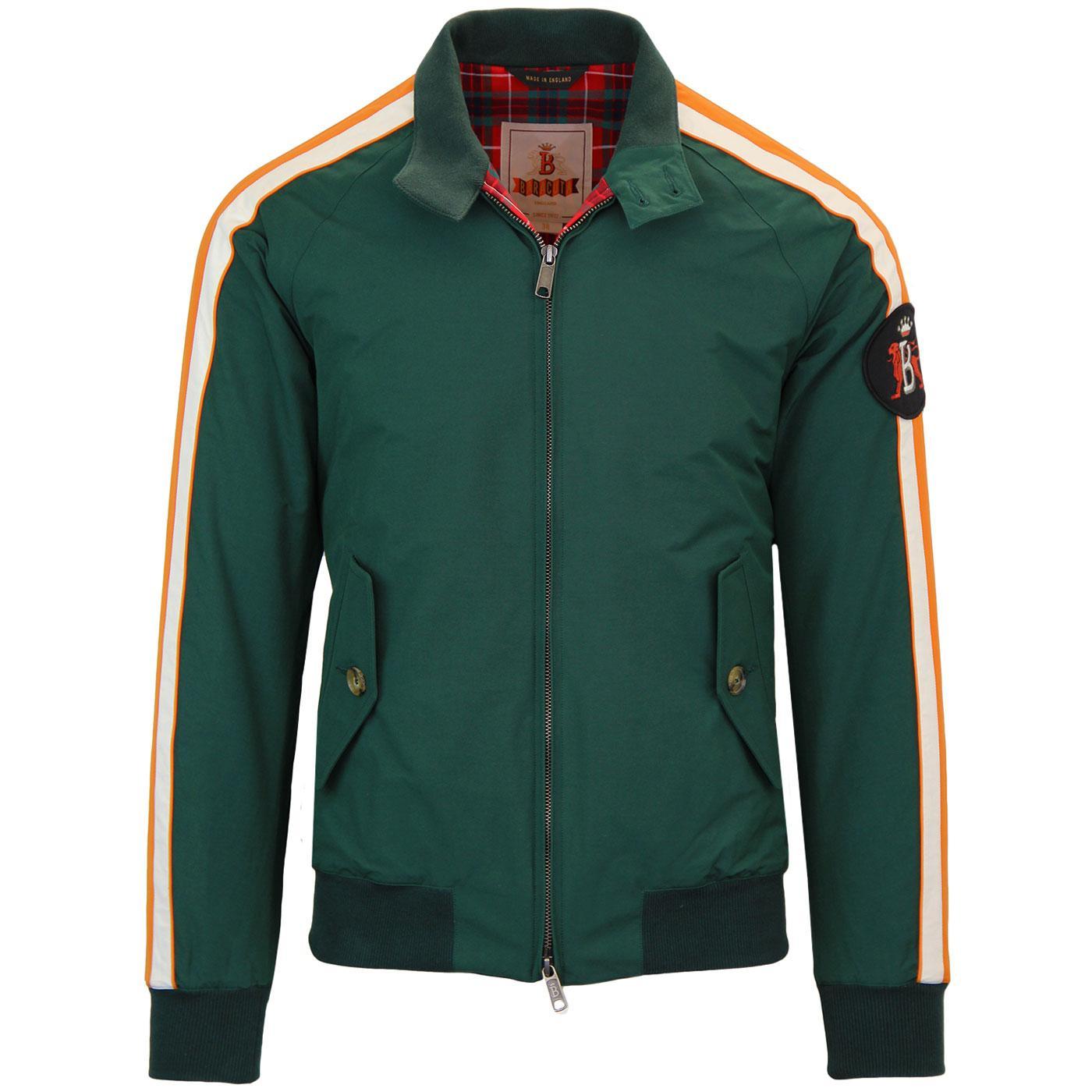 BARACUTA Manx TT G9 Harrington Jacket RACING GREEN