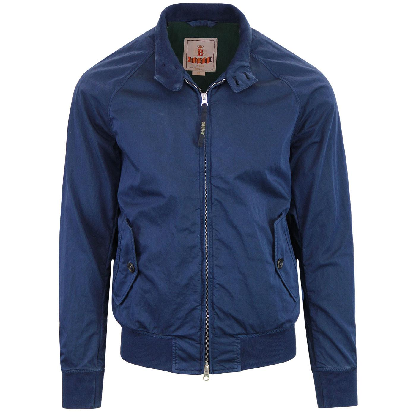 BARACUTA G9 Authentic Fit Sateen Harrington Jacket