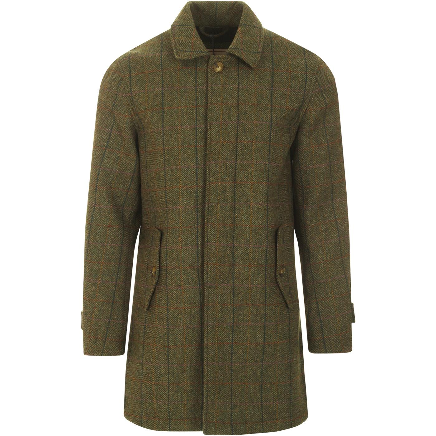 BARACUTA G10 Authentic Fit Tech Shetland Coat