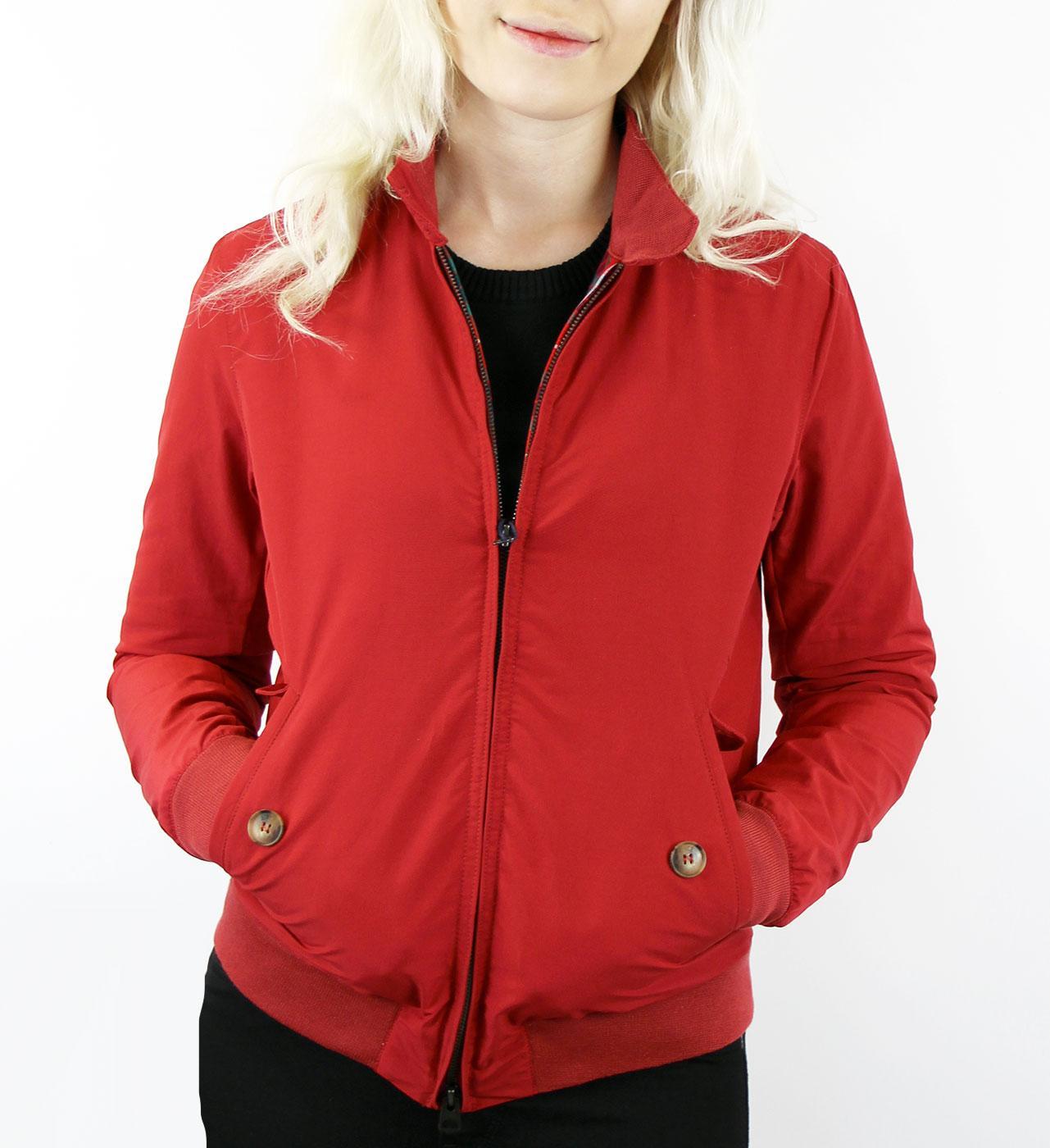 BARACUTA Womens G9 Original Harrington Jacket (DR)