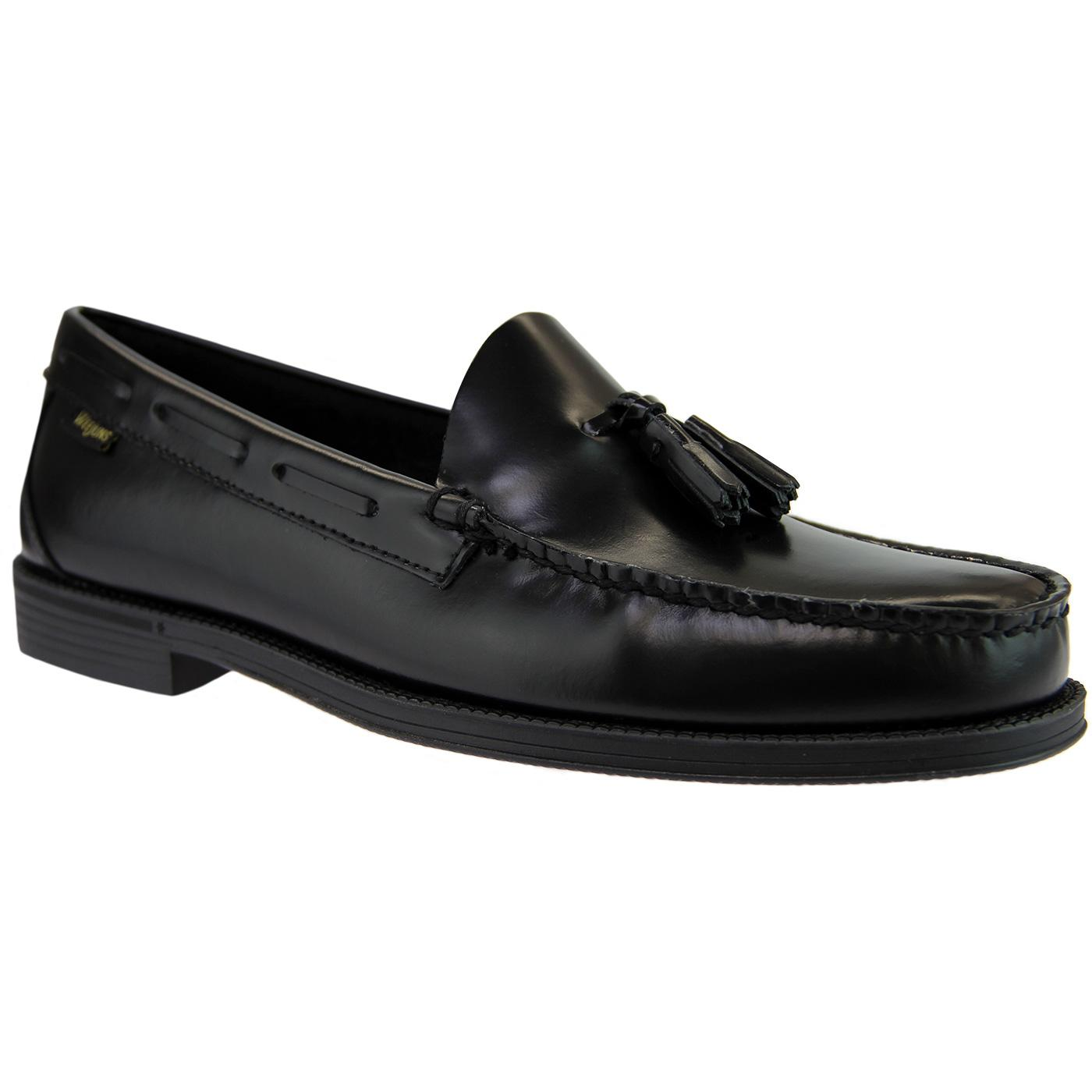 Larkin Easy Weejuns Tassel Loafer in Black