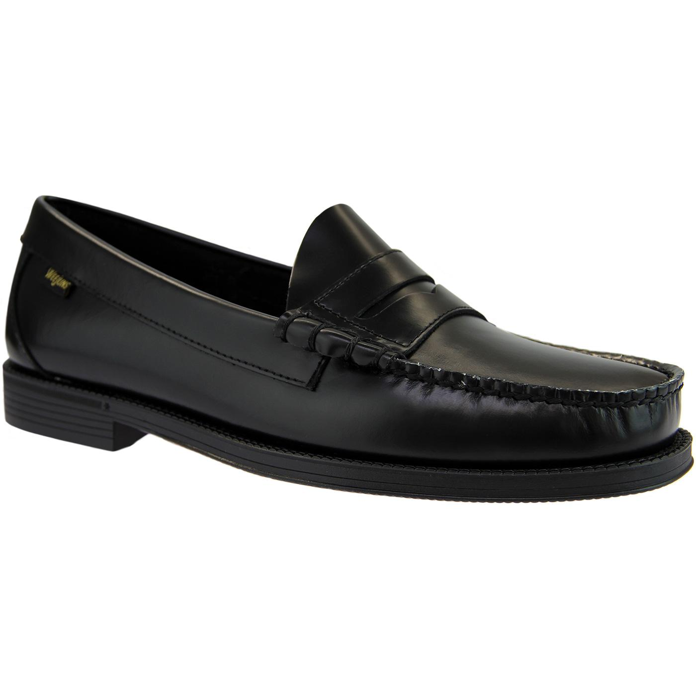 Bass Weejun Ease: Larson Penny Loafer in Black