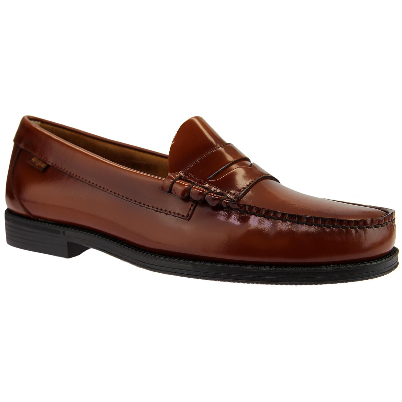 Bass Weejun Ease: Larson Penny Loafer in Tan