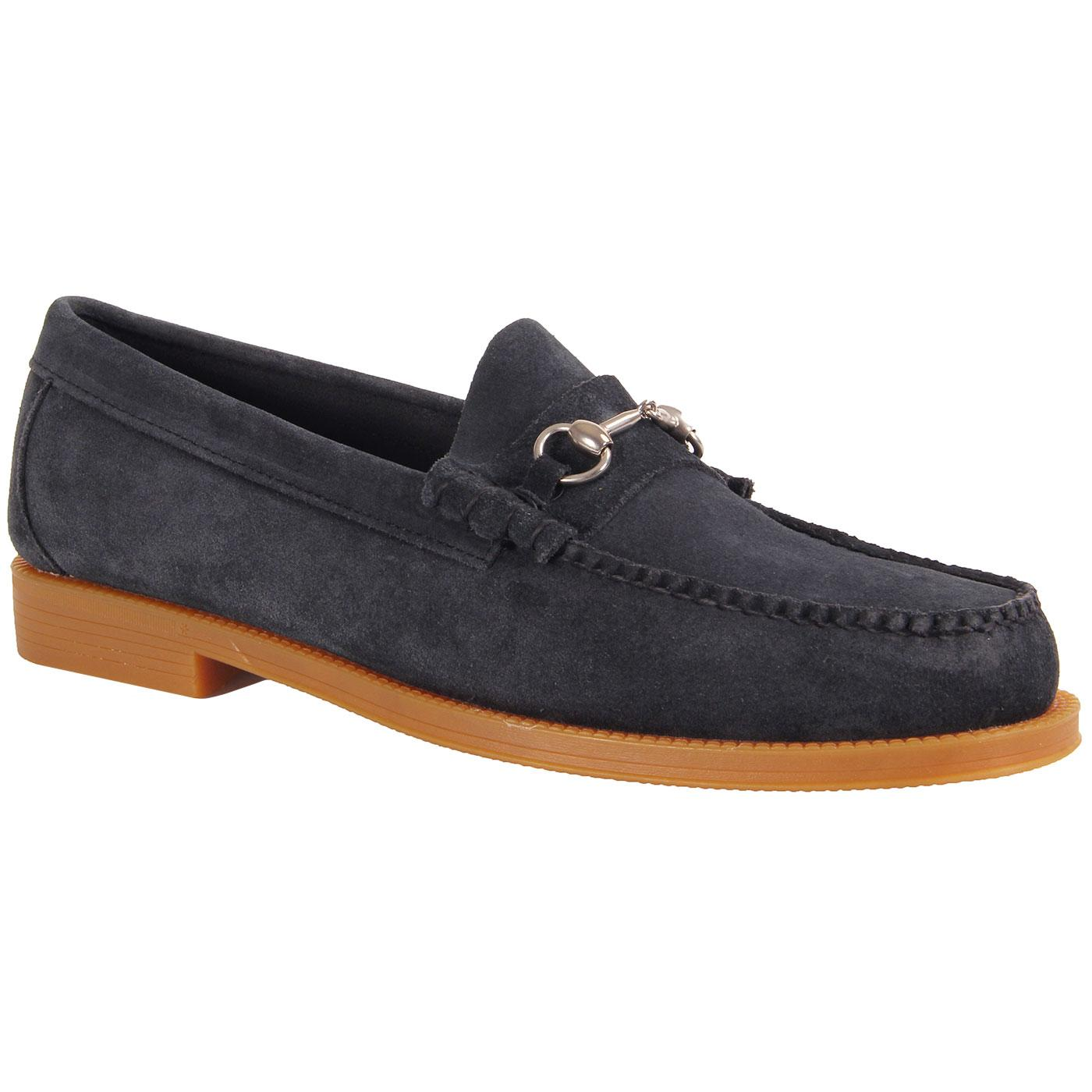 Lincoln Easy Weejun BASS WEEJUNS Suede Loafers (N)