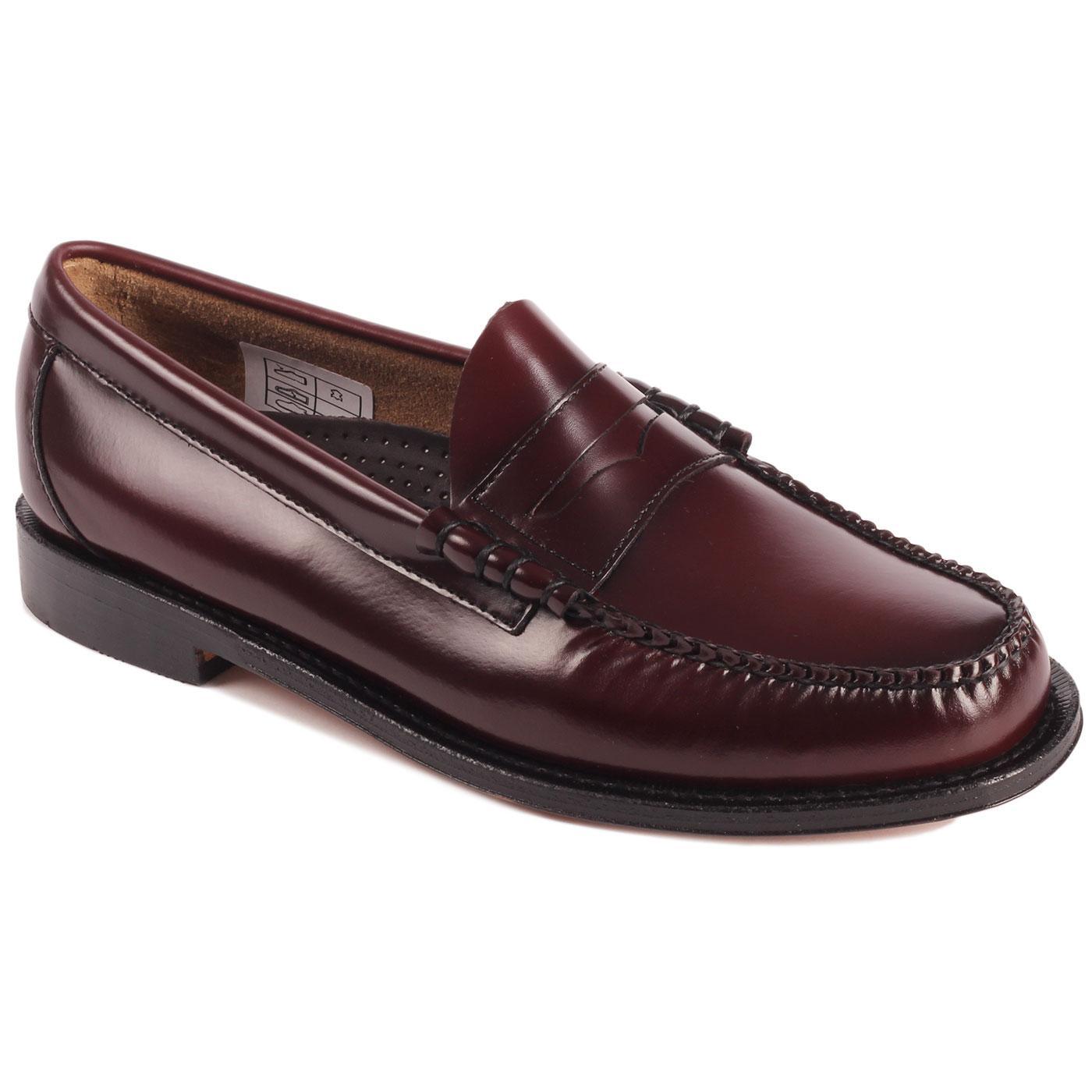 Heritage Larson BASS WEEJUNS Penny Loafers (Wine)