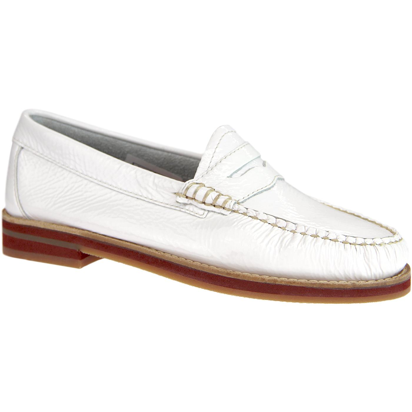 Spring BASS WEEJUNS 60s Penny Wrinkle Loafers (W)