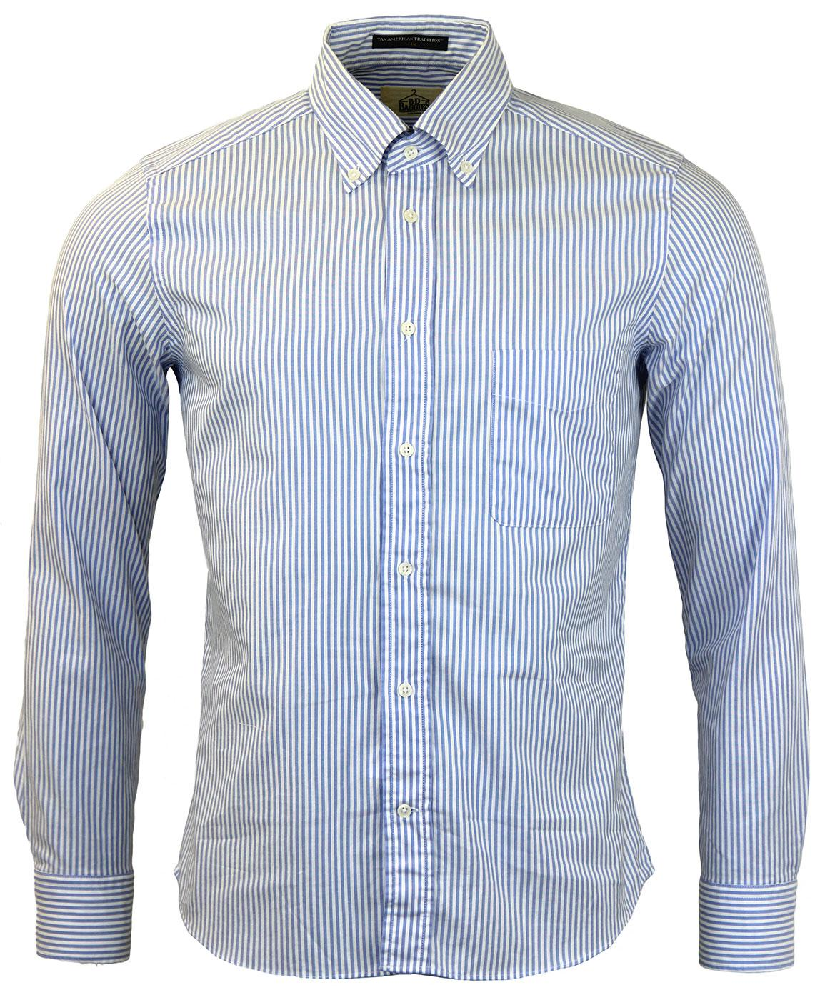 Dexter B D BAGGIES Slim Fit Bengal Stripe Shirt