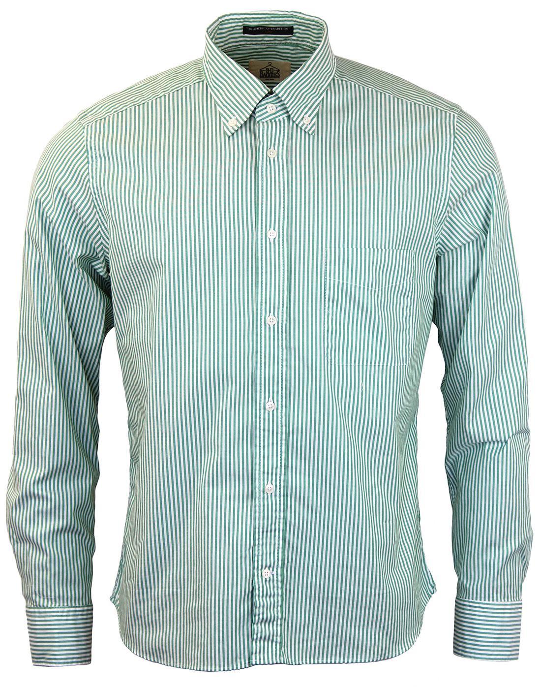 Dexter B D BAGGIES Slim Fit Bengal Stripe Shirt