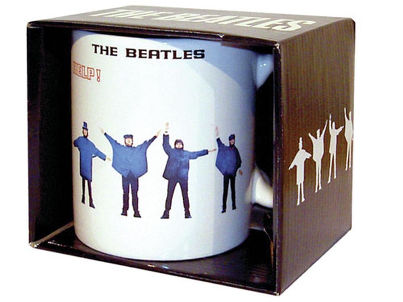 Help! BEATLES Retro 60s Boxed Mug (Classic Design)