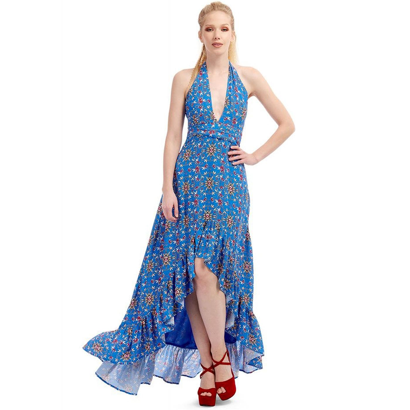 Bella BRIGHT & BEAUTIFUL Retro 70s Maxi Dress