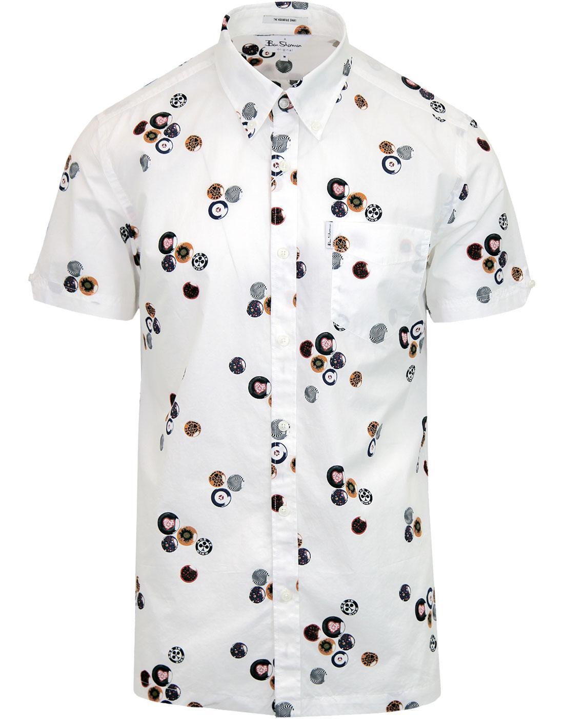 Aquarius BEN SHERMAN Northern Soul Archive Shirt