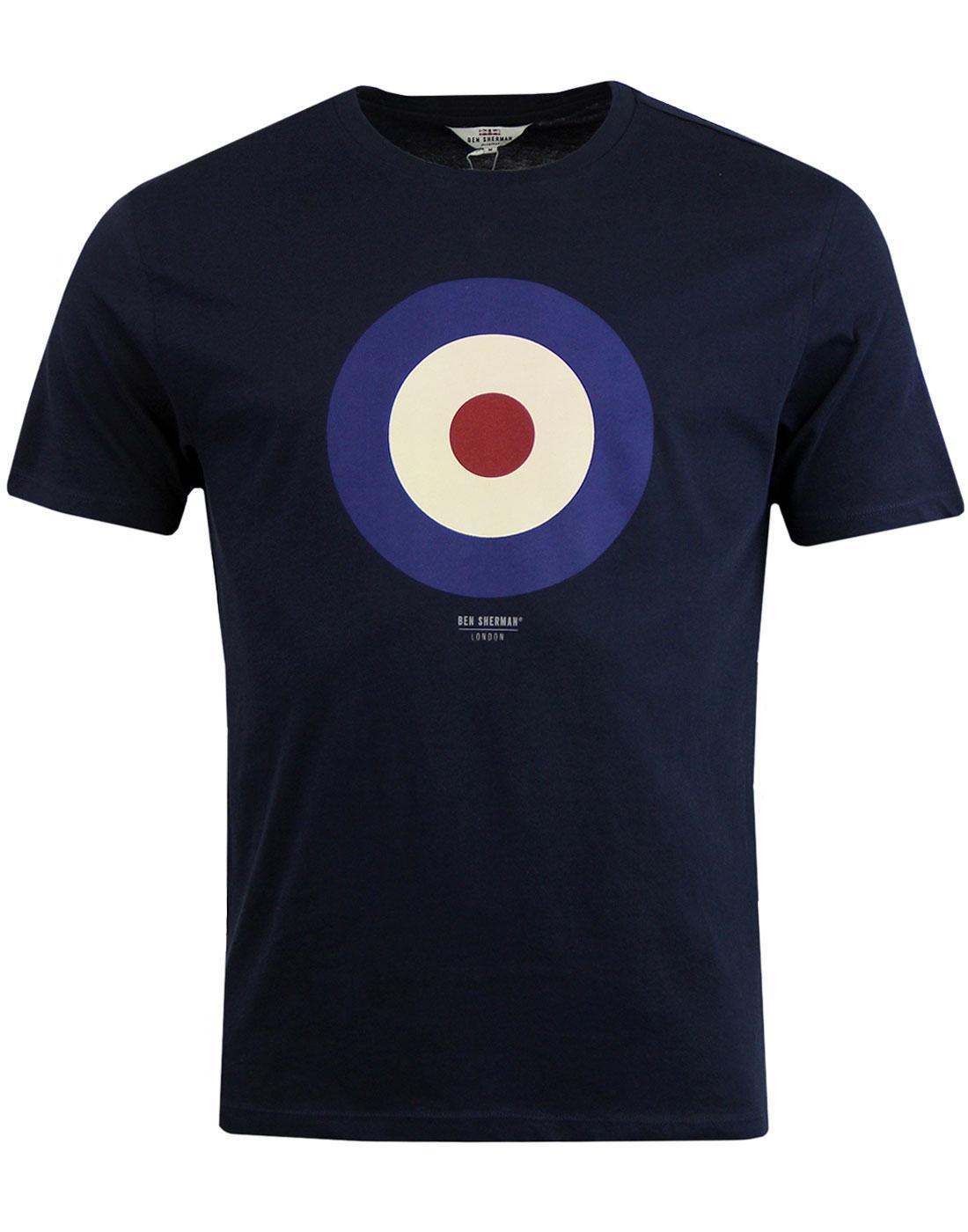BEN SHERMAN Keith Moon 60s Mod Target T-Shirt (DN)