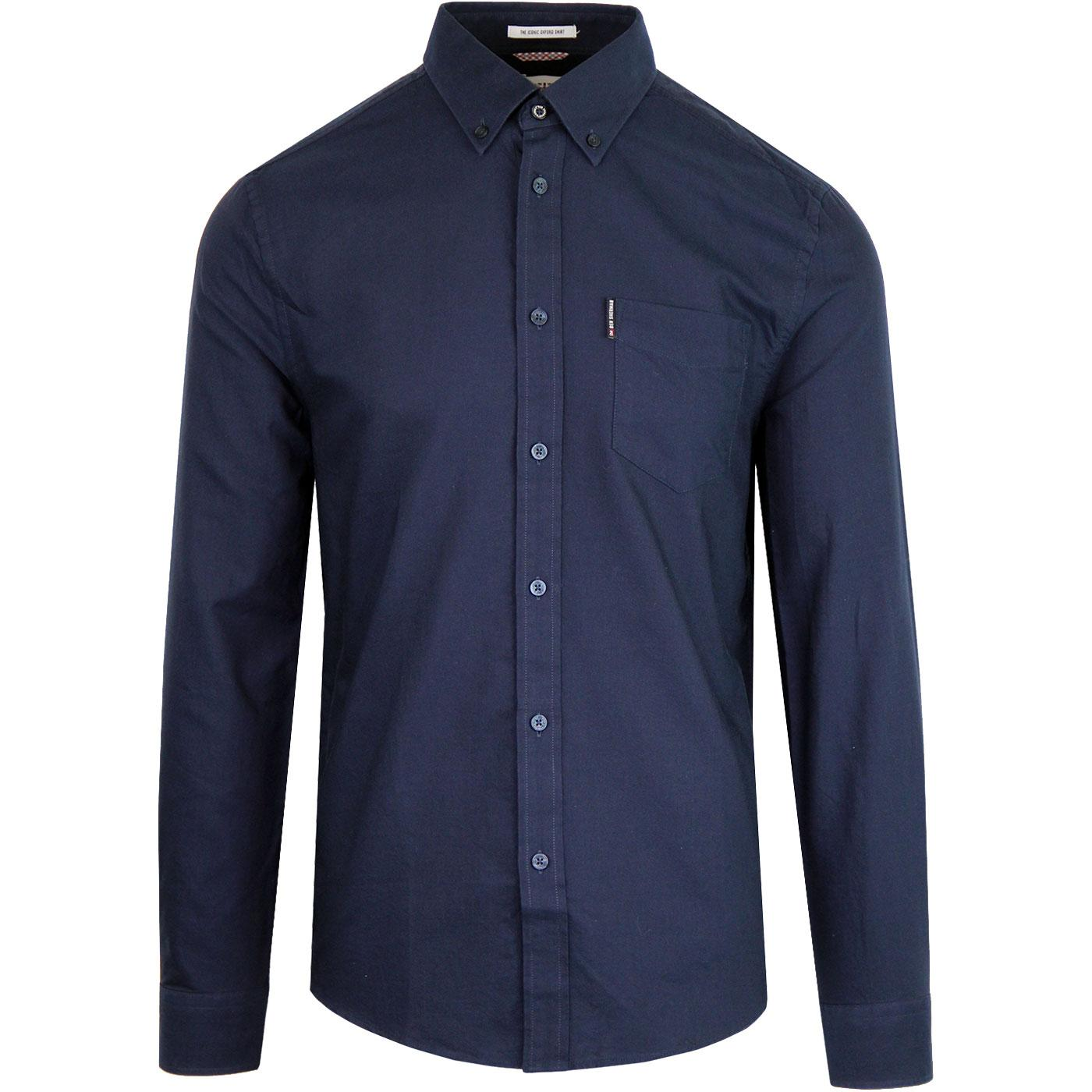 BEN SHERMAN Men's Mod Button Down Oxford Shirt (N)