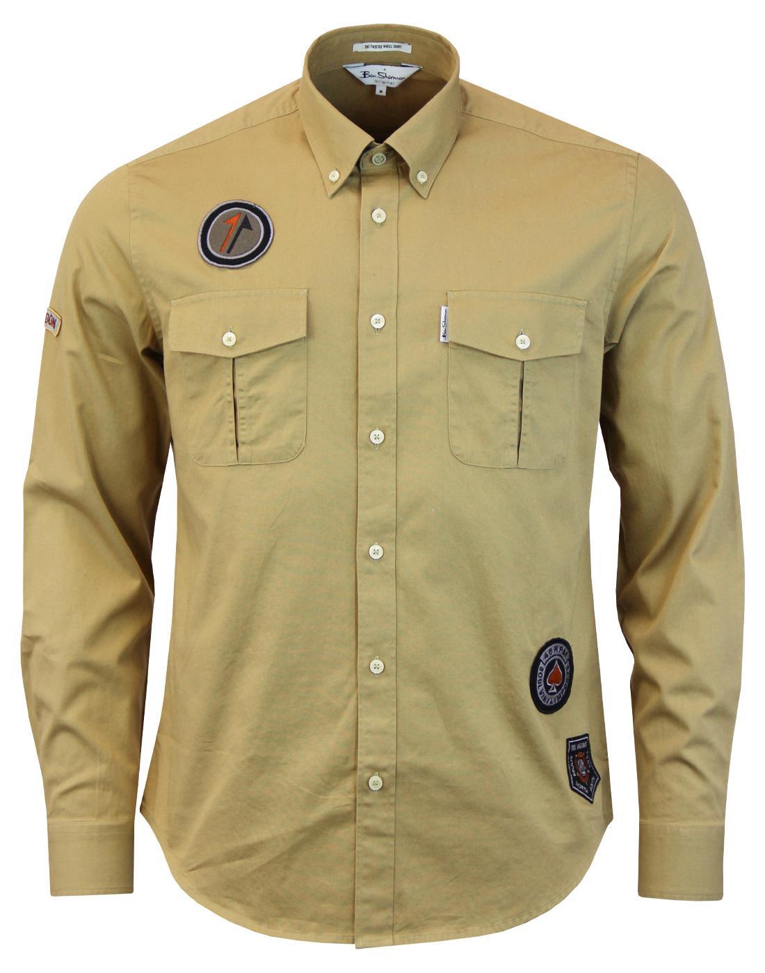 Twisted Wheel BEN SHERMAN Northern Soul Army Shirt