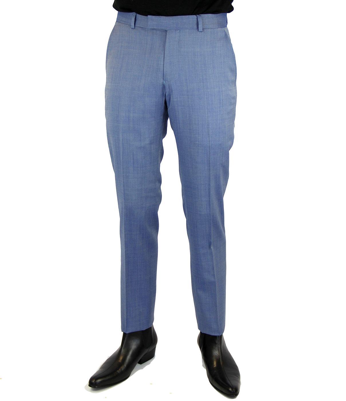 BEN SHERMAN Tailoring Mod Slim Tonic Trousers (WB)
